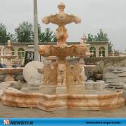 Stone Fountains Ball Fountain for Garden