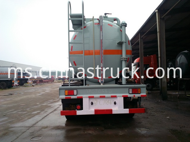 3 Axles Acid Tanker Trailer