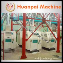 Chinese corn grits mill machine