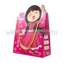 Bolsas de papel del regalo de la fiesta de cumpleaños de los niños de China con las manijas