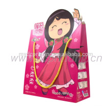 China custom kids birthday party gift paper bags with handles