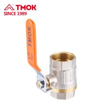 Válvulas de bola yuhuan de la buena calidad de la válvula de bola de cobre amarillo DN15 PN16