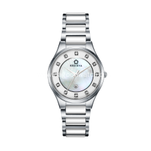 Stainless steel ceramic women watches