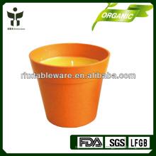 Umweltfreundlicher Bambusfaser-Kerzenhalter