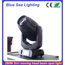 2015 New 10R 280w 3in1 moving head light stage effect robot