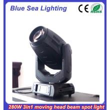 2015 Novo 10R 280w 3in1 movendo cabeça efeito de estágio de luz robô