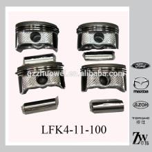 Tamaño estándar Car / Auto Mazda 6 2.0 GJ / GH / GG Piston fijado, pistón del motor L5Y3-11-SAO / LFK4-11-100