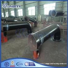 customized steel water jet for dredging on trailing suction hopper dredger (USC3-008)