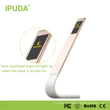 USA China Patented rechargeable dimming touch night light with flexible neck