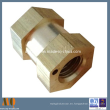 Latón piezas sanitarias de torno CNC (MQ055)