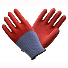 (LG-013) 13t Latex Coated Labor Protective Safety Work Gloves