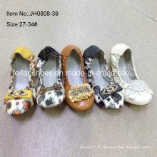 Последние девушки обувь Дети балета обувь танцевальная обувь (JH0808 -39)