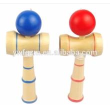 Venta caliente barato juguete de madera japonés mini kendama