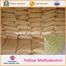 Maltodextrine jaune naturelle de haute qualité avec un bon prix