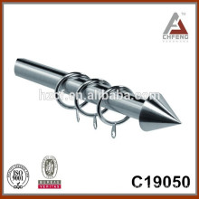 fancy modern extendable painting curtain rods, curtain pole