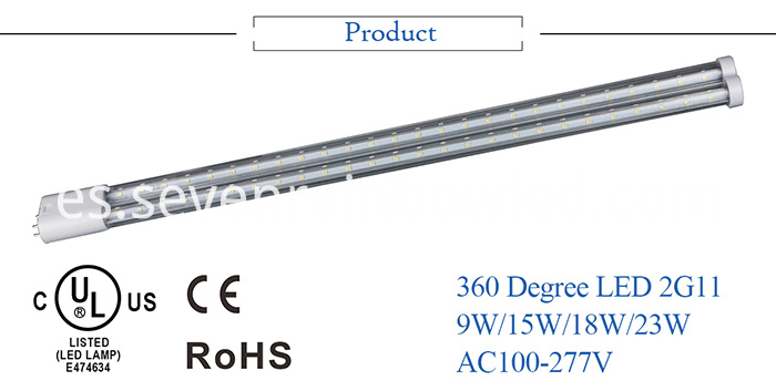 15w LED 2G11 Light