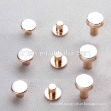Electrical contact tip for relay switches