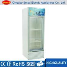 Frigorífico transparente vertical / nevera / frigorífico bebida energética