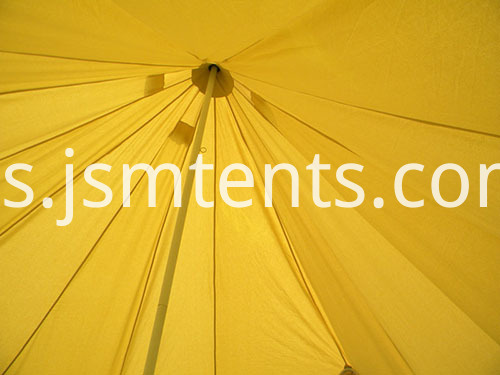 Central Pole Canvas Bell Tents