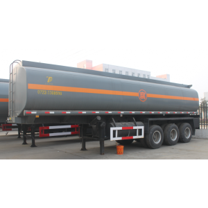 3 Axles Diluted Hydrochloric Acid Tank Semitrailer
