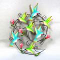 Décoration animée de mur d'oiseaux Humming Bird
