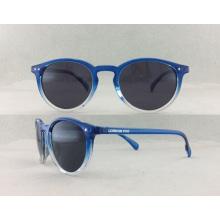 Óculos de sol feitos à mão colorido da forma do acetato P02002