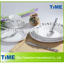 20pcs Decal Porcelain Dinner Set