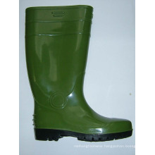 Safety Steel Toe Cap Rain Boots Working Rain Shoes, Ce Standard Safety Work Shoes