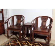 3 наборы сиамский палисандр стул Дворца с природой зерна.
