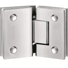 Bisagra para puerta de ducha deslizante sin marco