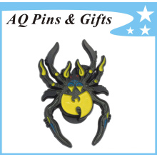 High Quality Metal Brooch Pin Badge with Black Paint (badge-150)