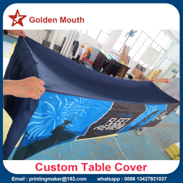 8 Kaki Customized Table Cover Cloth Printing