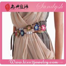 Accesorios únicos de la joyería Correas de moda hechas a mano para la señora