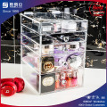 Pretty Acrylic Makeup Organizer 3 Drawer in Stock