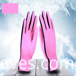 Fleece Gloves Pink