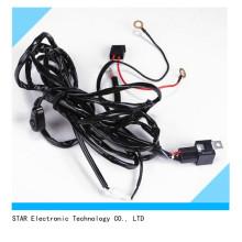 La luz auto de la niebla del coche LED OCULTÓ el arnés de cableado de la lámpara de conducción ligera con el interruptor fusible 40AMP 120W del relé