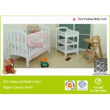Nuevos muebles de madera de la cama de bebé de la manera
