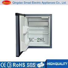 28Л прозрачная одностворчатая дверь автомобиля мини-холодильник
