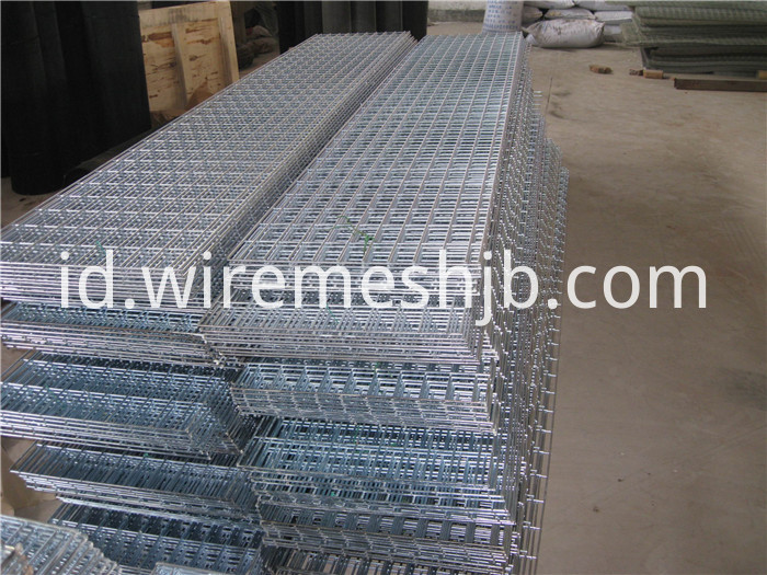 Galvanized Weld Mesh Panels