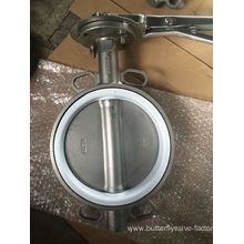 PTFE Seat Wafer Butterfly Valve