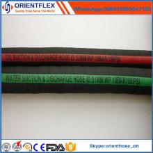 Manguera flexible flexible de succión y descarga de aceite de caucho