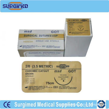 Surgical Catgut Sutures With Needle
