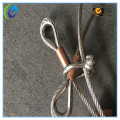 Stainless Steel Wire Rope Slings with Copper Ferrule