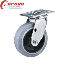 Echador giratorio resistente de 100m m con la rueda conductora