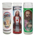 Glass Church Candle Custom Seven Day Candles