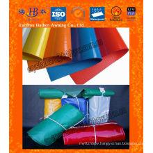 heavy duty waterproof & fireproof pvc tarpaulin fabric