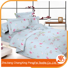 Small flower print bed sheet fabric with cheap price