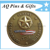 Challenge Coin with 3D Logo