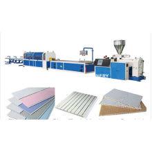 Extrusor de máquinas de fabricación de techo de PVC