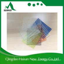 Malha de fibra de vidro de malha de fio de vidro E de cor azul